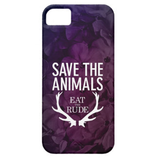 Hannibal Eat the Rude / Save the Animals Phone Cas iPhone SE/5/5s Case