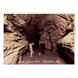 Hannibal Missouri Reception Hall, Mark Twain Cave Card