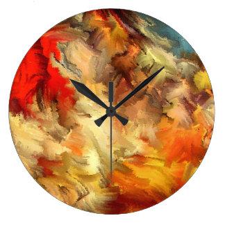 Hannibal que cruza las montañas por el rafi talby reloj redondo grande