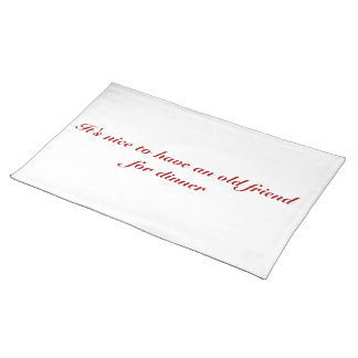 Hannibal Quote Placemat