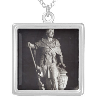 Hannibal Triumphant, 1722 Silver Plated Necklace