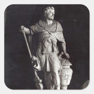 Hannibal Triumphant, 1722 Square Sticker