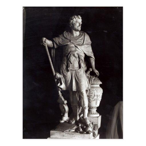 Hannibal triunfante, 1722 postal