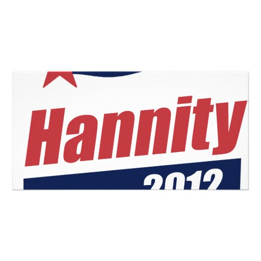 Hannity 2012 Banner 2 Photo Greeting Card