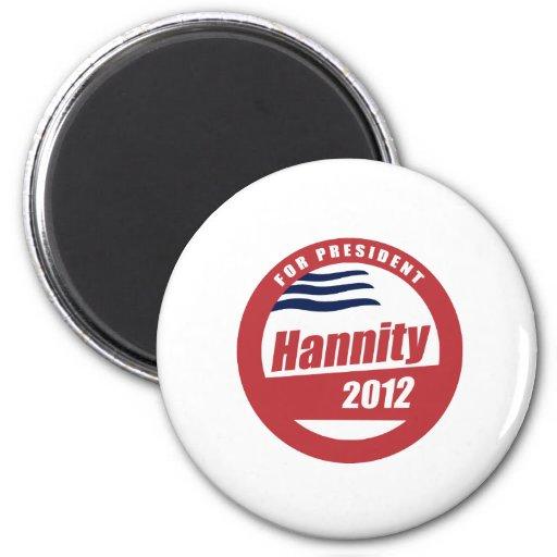 Hannity 2012 refrigerator magnets
