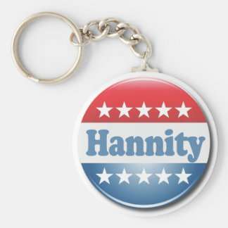 Hannity Button Keychain