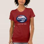 Hannity para el presidente 2012 camiseta