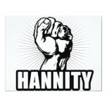 Hannity Power Personalized Invitations