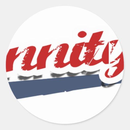 Hannity Team Classic Round Sticker