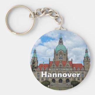 Hannover, Hannover, nuevo ayuntamiento 02, Llavero Redondo Tipo Pin
