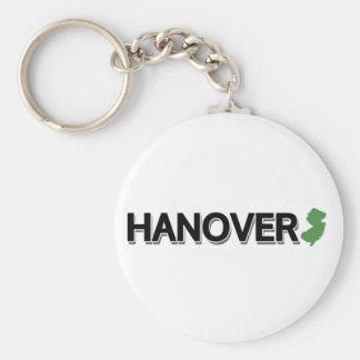Hannover, New Jersey Llavero Redondo Tipo Pin