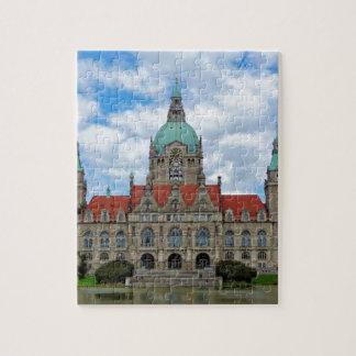 Hannover, nuevo ayuntamiento, Alemania Puzzle Con Fotos