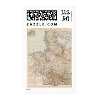 Hannover, SchleswigHolstein, North Germany Map Postage