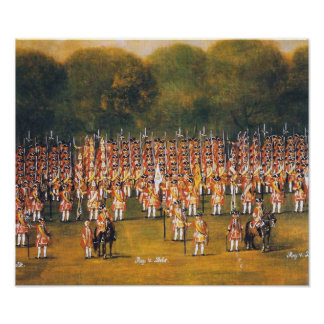 Hannoverian Troops Print