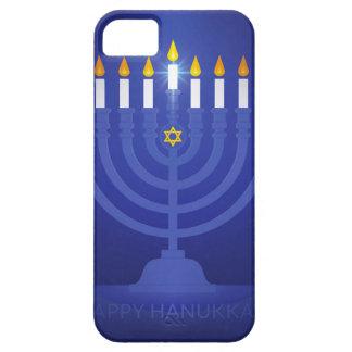 hannukah feliz azul funda para iPhone SE/5/5s