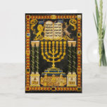 "Hannukah Holiday Card<br><div class=""desc"">Hannukah card</div>"