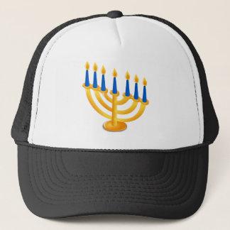 Hannukah Menorah Trucker Hat
