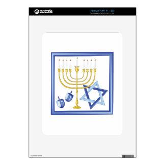 Hannukah Symbols iPad Decals