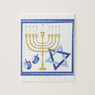 Hannukah Symbols Jigsaw Puzzle