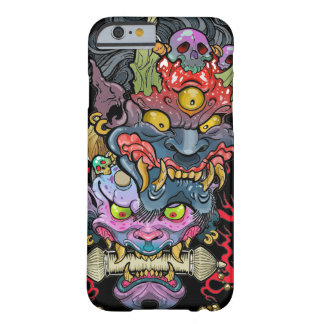 Hannya and Oni Mask Barely There iPhone 6 Case