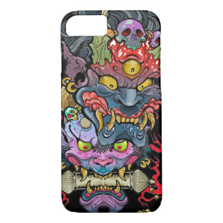 Hannya and Oni Mask iPhone 8/7 Case