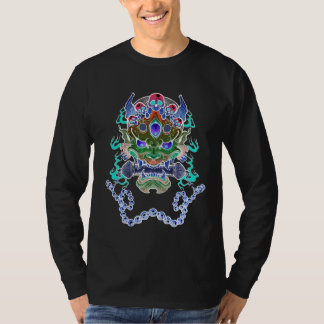 Hannya Mask Blue Intensity T-Shirt
