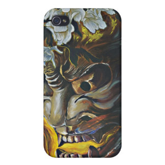Hannya Mask Cover for Iphone Covers For iPhone 4