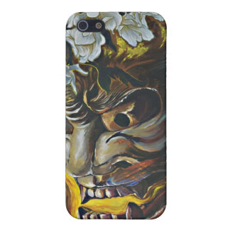 Hannya Mask Cover for Iphone iPhone 5/5S Cases