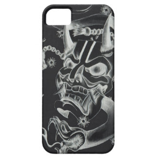 Hannya mask tattoo design iPhone 5 cover