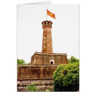 hanoi flag tower card