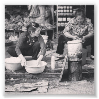 Hanoi Markets Photo Print