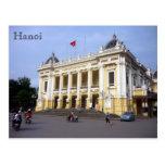 hanoi opera grand postcard