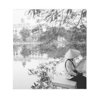 Hanoi opinión de Vietnam, lago Hoan Kiem (NR) Bloc
