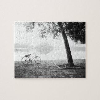 Hanoi Vietnam, Bicycle & Bay Mau Lake Lenin Park Jigsaw Puzzle