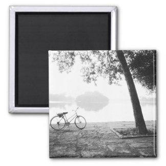 Hanoi Vietnam Bicycle Bay Mau Lake Lenin Park Magnets