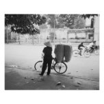 Hanoi Vietnam, Bicyle Delivery Woman (NR) Poster