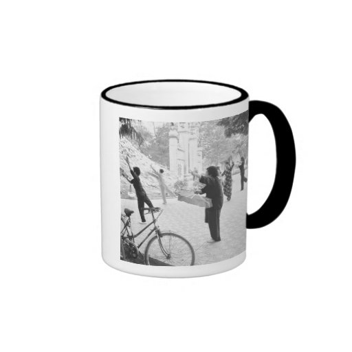 Hanoi Vietnam, Morning Excercises by Hoan Kiem Mugs