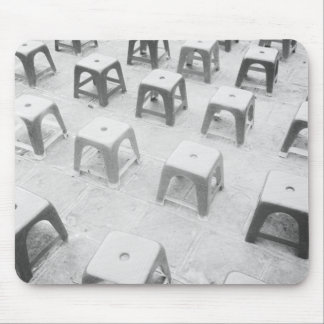 Hanoi Vietnam, Plastic Stools at the Temple of Mouse Pad