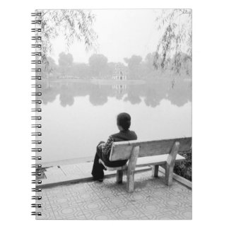Hanoi Vietnam, View of Hoan Kiem Lake (NR) Notebook