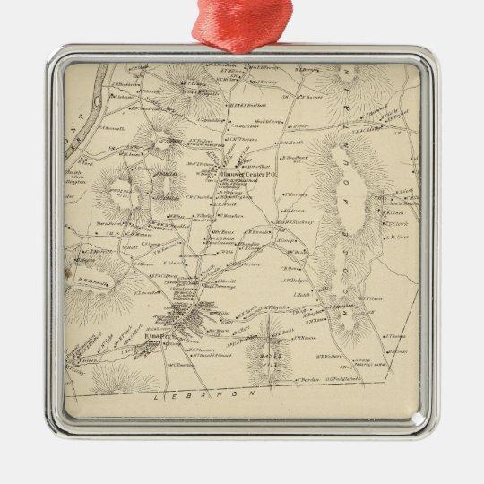 Hanover, Grafton Co Metal Ornament