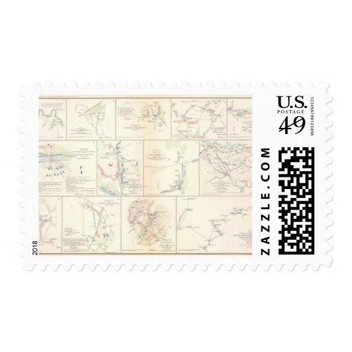 Hanover, Hanover CH, New Bridge, Mechanicsville Stamps