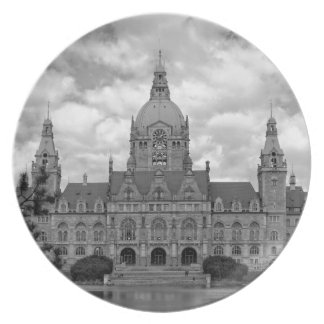 Hanover, New Town Hall, 001.F.04s (Hannover) Plate