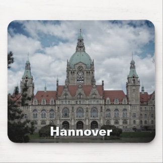 Hanover, New Town Hall F.03, Germany (Hannover) Mouse Pad