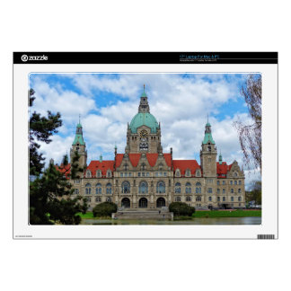 "Hanover, New Town Hall, Germany (Hannover) 17"" Laptop Skin"