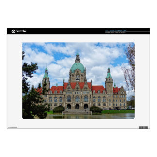 Hanover, New Town Hall, Germany (Hannover) Laptop Skin