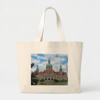 Hanover, New Town Hall, Germany (Hannover) Large Tote Bag