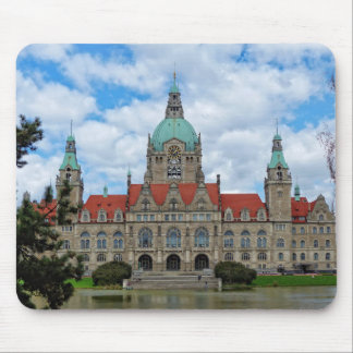 Hanover, New Town Hall, Germany (Hannover) Mouse Pad