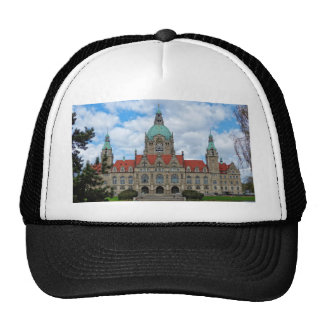 Hanover, New Town Hall, Germany (Hannover) Trucker Hat