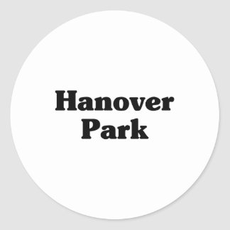 Hanover Park Classic t shirts Round Stickers