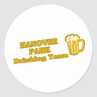 Hanover Park Drinking Team tee shirts Stickers